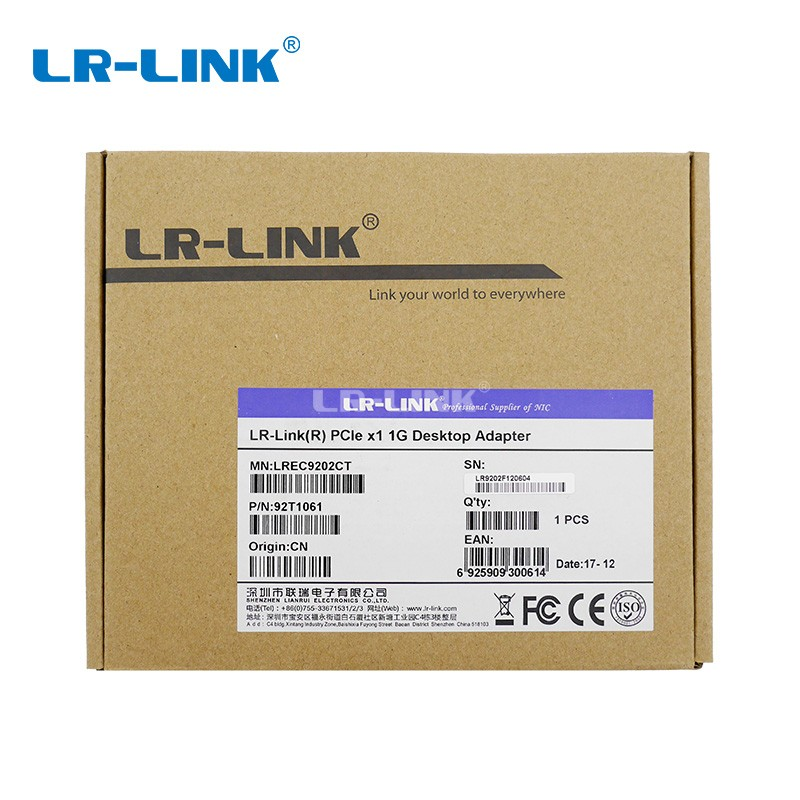 Image 5 - LR LINK 9202CT PCI Express PCI E Network Card 1000Mbps Gigabit Ethernet Card 10/100/1000M RJ 45 LAN Adapter For PC Intel I211-in Network Cards from Computer & Office