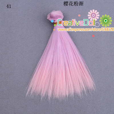 free-shipping-15cm-wholesales-Straight-Hair-DIY-Hairwigs-For-BJD-for-monster-high-for-barbie-dolls-5