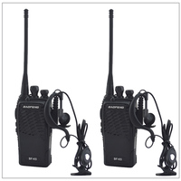 2pcs Lot Baofeng BF K5 UHF 400 480MHz Portable Two Way Radio Transceiver Baofeng Walkie Talkie