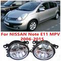 Для NISSAN Note E11 MPV 2006-2015 Противотуманные фары LED Автомобилей Стайлинг 10 Вт Желтый Белый 2016 новые фары