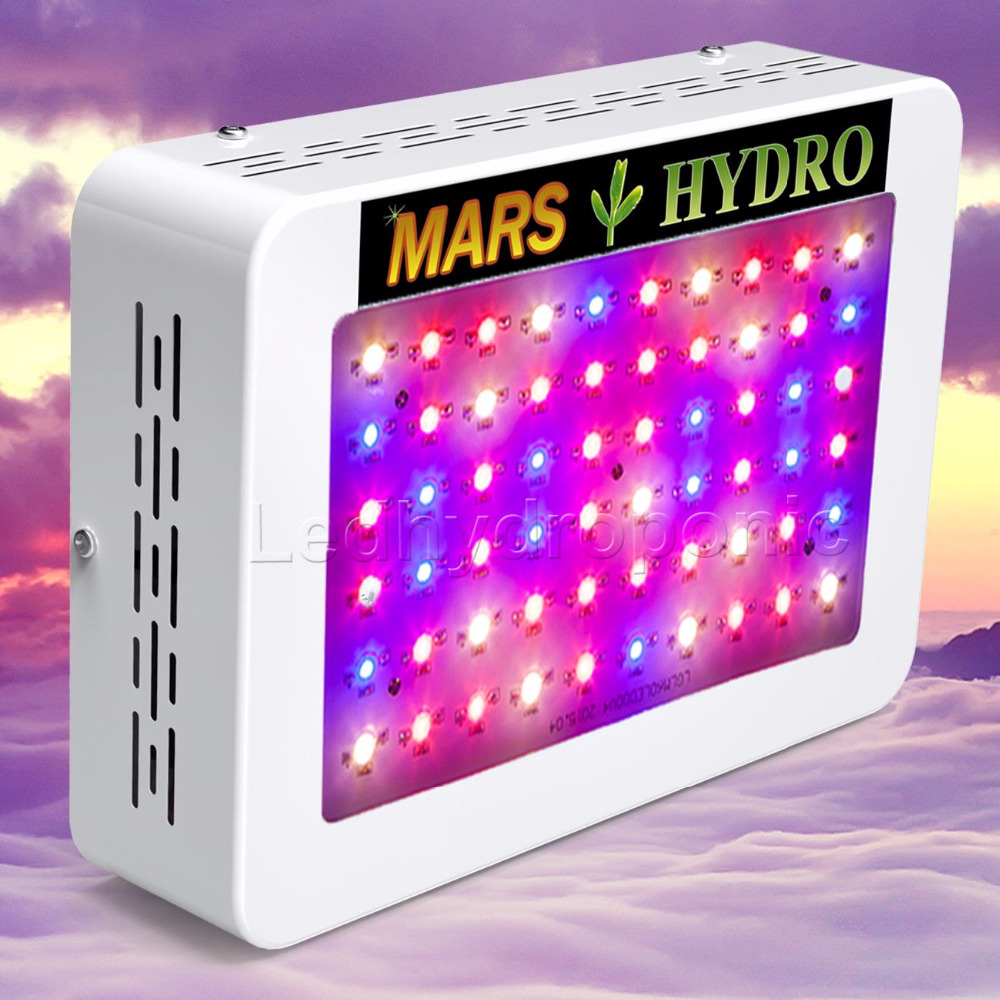 13766dc32da33 ⊹Mars Hydro LED crece la luz 300 W lámpara de espectro completo ...