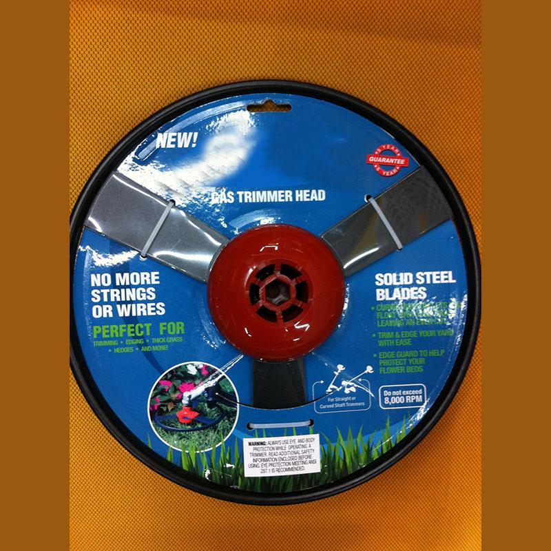 Solid Steel No String Univerzální plynový vyžínač, kovová - Zahradní nářadí - Fotografie 1