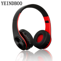 YEINDBOO B7Wireless Headphones Bluetooth Headset Foldable Headphone Adjustable Earphones With Microphone For PC Mobile Phone Mp3