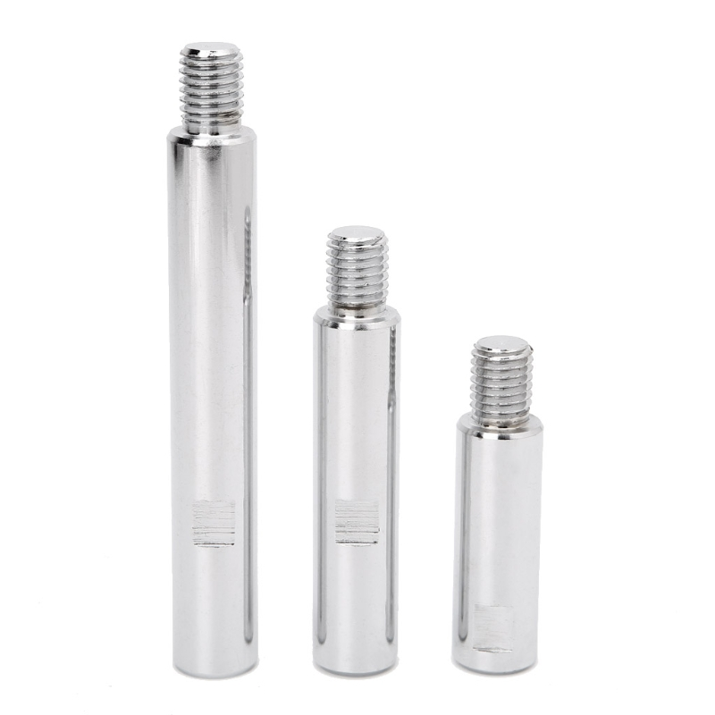 Stainless Steel M14 Rotary Polisher Extension Shaft for Car Care Polishing Accessories Tools Auto Detailing W315 цена