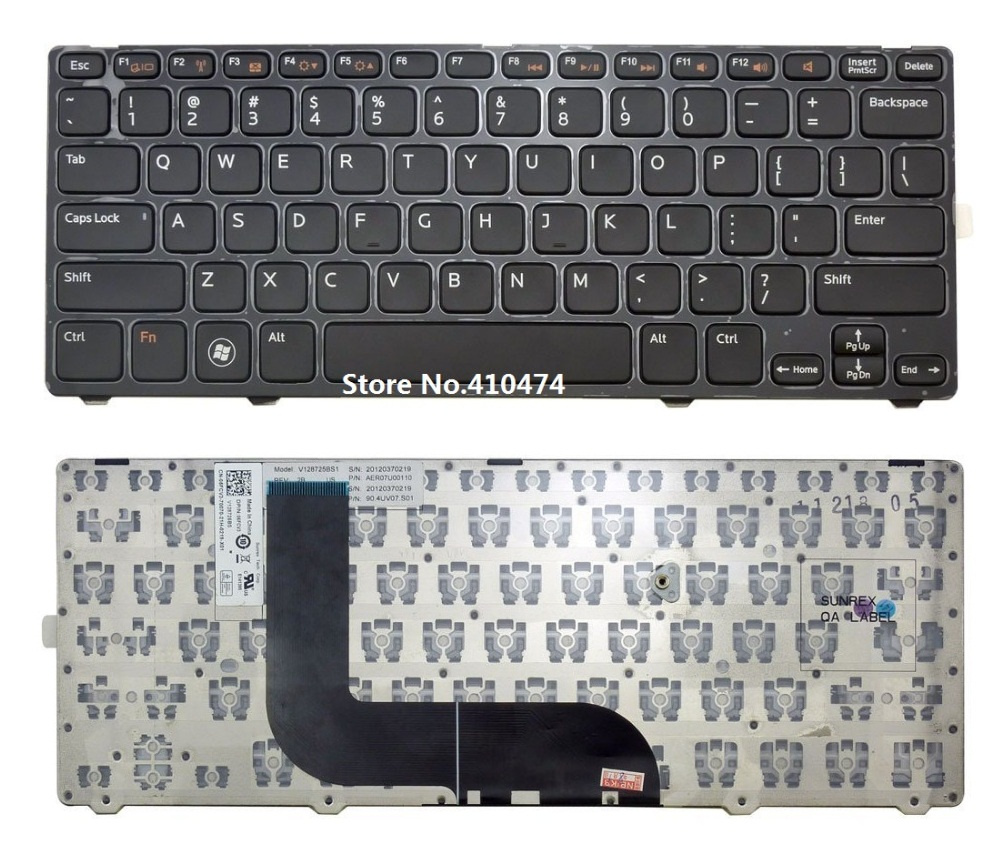 Laptop US Keyboard for DELL Inspiron 5423 14z-5423 14Z 3360 1618l 13Z-5323 5323 Vostro V3360