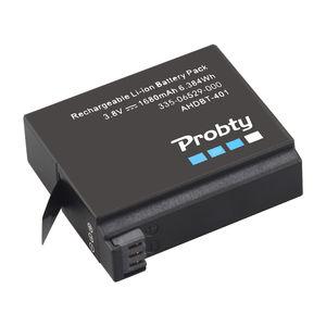 Image 3 - Originele probty Voor GoPro Hero4 Hero 4 batterij + LCD dual charger voor go pro AHDBT 401 HERO4 Zwart Zilver action camera accessoire