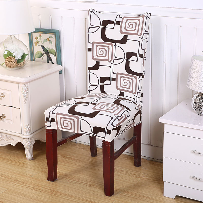 Patterned Dining Chair Slipcover 3