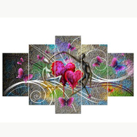 Abstract Music Lover 5D DIY Diamond Painting Cross Stitch Needlework Home Decor 3D Full Drill Diamond