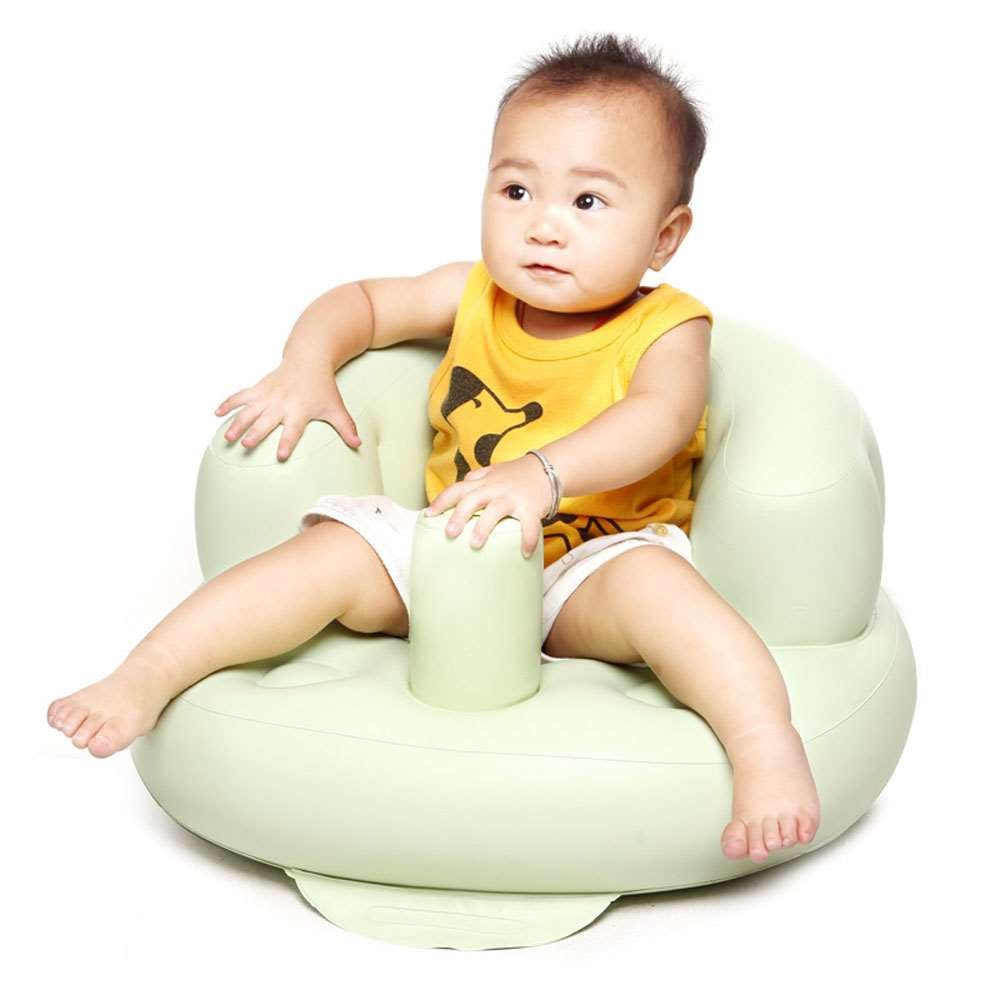 3.29 Inflatable Baby Chair Bath Room Stools Portable Children Seat Kids Feeding Learn To Sit Play Games Bath Sofa Great Helper (1)