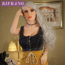 Rifrano 158cm top quality  real life silicone sex doll, big breasted love doll sexy product for Vagina pussy toy