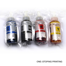 4PCS 70ML Refill printer ink for Epson L100 L200 L211 L301 L303 L351 L358 L551 L558 L355 L800 L801 all L series Epson Printers