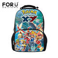 2016 снова в школу рюкзак сумки для детей dragon ball печати подросток мальчики большой pokemon рюкзаки ранцы bagpack детей