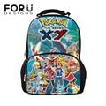 2016 back to school backpack bags for children dragon ball printing teenager boys big backpacks pokemon schoolbags bagpack kids