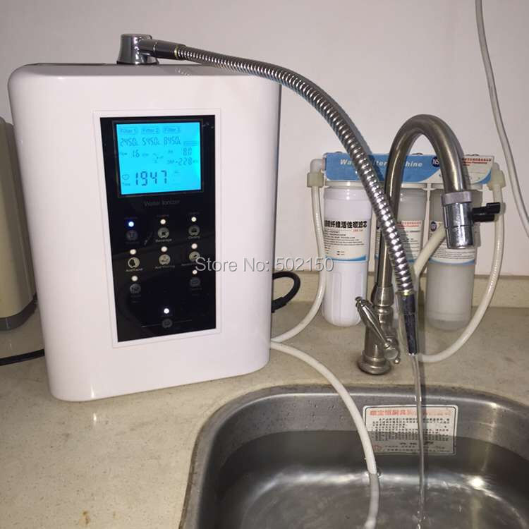 цена на 110V OH-806-3W under the sink reverse osmosis system water alkaline ionizer