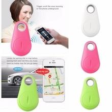 Мода Мини Bluetooth 4.0 GPS Трекер Локатор Тревоги Тега Ключа Бумажника Собак Pet Tracker Анти-потерянный Карманный Размер Смарт трекер