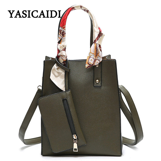 Woman Bags Luxury Designers 2017 Fashion Purse and Handbags Women Scarves Crossbody Bags Black Pu Leather Messenger  Bag