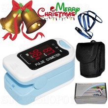 CMS50M Fingertip Pulse Oximeter Blood Oxygen Spo2/PR Monitor with Carry Case LED(China (Mainland))