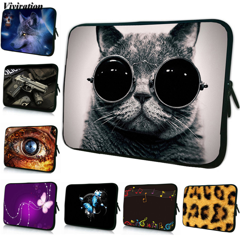 Prints Sleeve 8/7/ 7.7/7.9 Tablet Netbook Bag Neoprene Cover For Ipad Mini 5/Xiaomi Mi Pad 2 3 4 Case Women Fashion Zipper Pouch