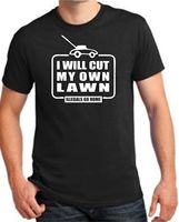 Wholesale Price T Shirt Store Online Printed O-Neck I Will Cumy Own Lawn Illegals Go Illegal Immigration Tee For Men