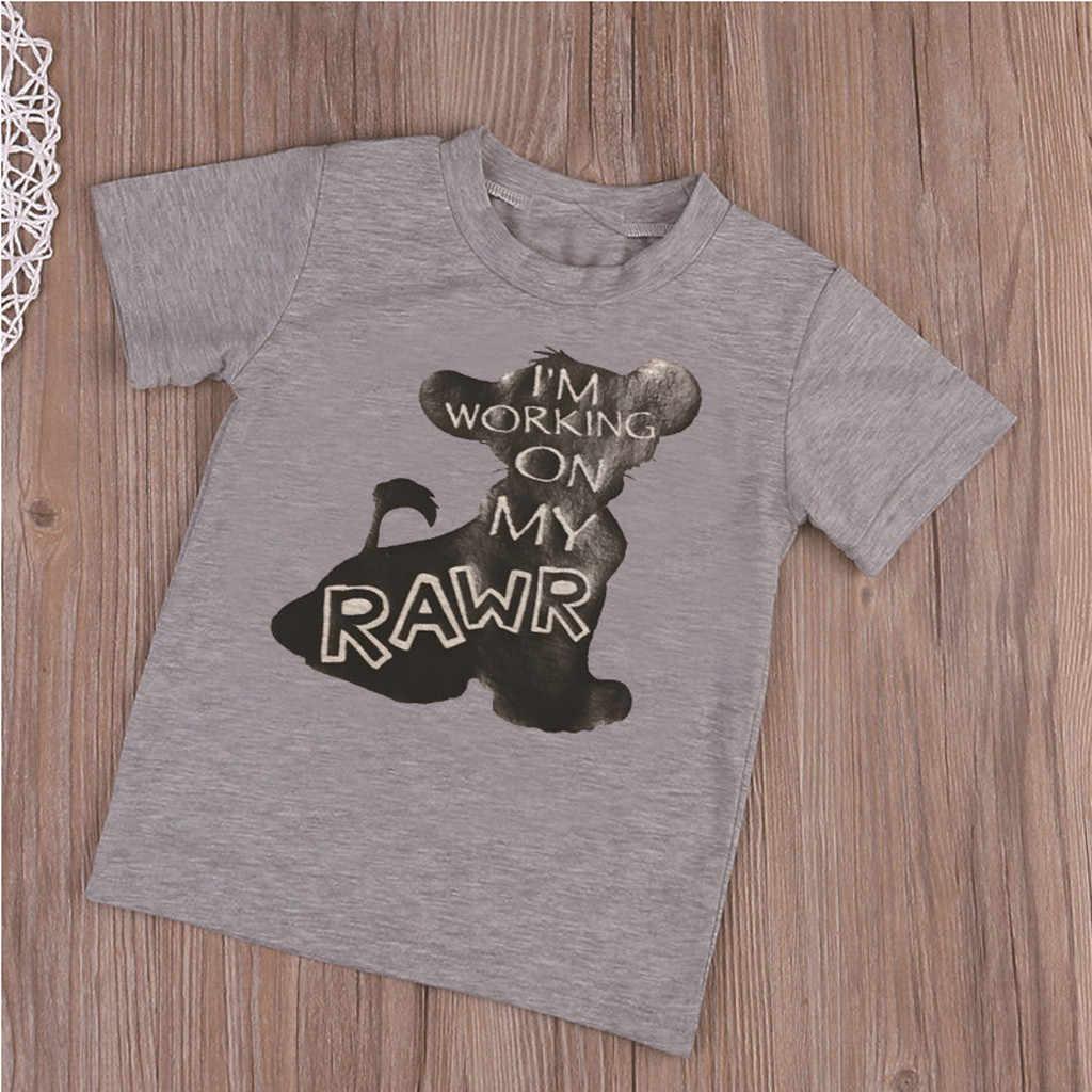 2019 Moda big boys camisas das meninas do Verão Dos Desenhos Animados de Algodão de Manga Curta T camisa das meninas blusa Crianças Roupa Dos Miúdos tshirt Ocasional
