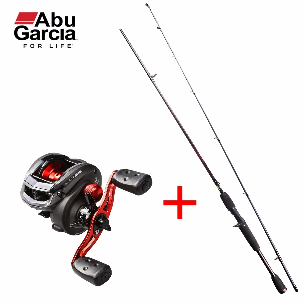 Original Abu Garcia Black Max Combo BMAX662M Baitcasting Fishing Rod + BMAX3 Baitcasting Fishing Reel Right/Left Baitcast Combos abu garcia revo3 sx hs hs l 10bb 7 1 1 bait casting reel super smooth low profile water drop wheel left right hand max drag 9kg