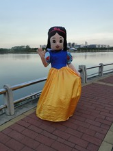 Snow White costume mascot cartoon mascot costume mascot adult size, free shipping high quality