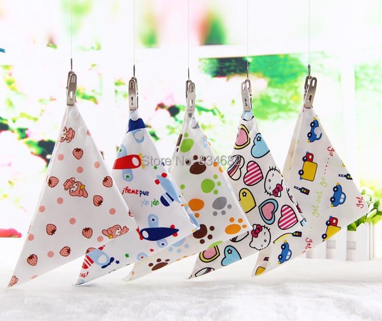 J.G Chen 5pcs Set Baby Bibs 5 Designs Mixed Infant Saliva Towel 100% Cotton Original Brand Baby Babador Bandana Dribble Bib