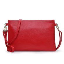 free shipping new fashion brand women's wristlets ladies single shoulder bag female crossbody bag 100% genuine cowhide leather