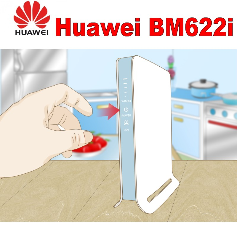 HUAWEI BM622i WiMAX CPE Router