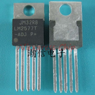1 pçs/lote LM2577T-ADJ TO220-5 LM2577T TO220 LM2577 TO-220-5 LM2577-ADJ novo original Em Estoque