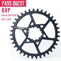 Проходное QUEST GXP MTB круглое узкое широкое цепное кольцо 32T-38T 3 мм офсетное колесо для горного велосипеда SRAM gx xx1 eagle Bicycle Crankse