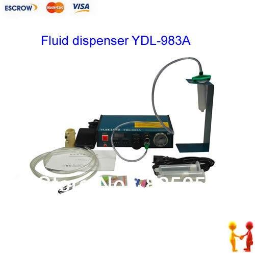220 В Авто Клей Диспенсер паяльной пасты Жидкость контроллер Dropper жидкости дозатор YDL-983A