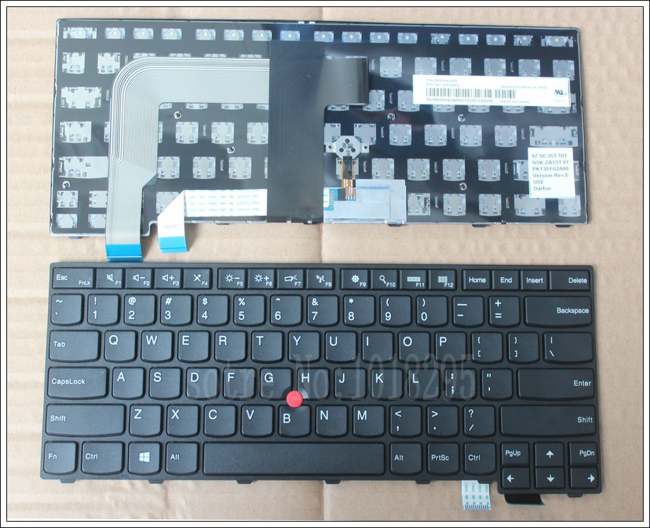 NEW Laptop Keyboard For for Lenovo Thinkpad T460 T460P T460S US United States FRU:00PA493 No Backlit