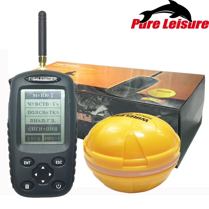 Localizador de Pesca para Encontrar Pesca Leqi Ffw1108-1 Inglês Wireless