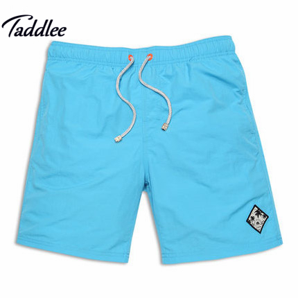 Taddlee Brand Men Beachwear Boxers Trunks Active Bermudas Mens Swimwear Swimsuits Jogger Sweatpants Man Quick Drying Boardshorts