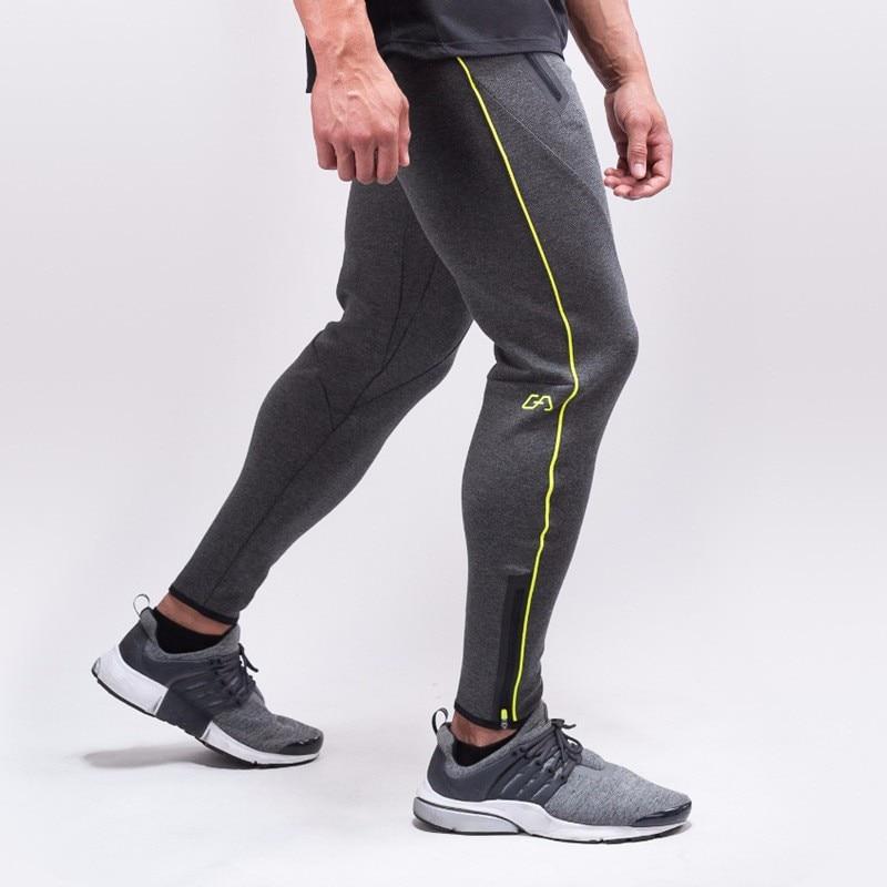 ᗑPantalones masculinos de la Aptitud Sudor Pantalones Hombres ...