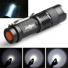 Cycling Bicycle Front Head Light Mini Q5 LED Flashlight Torch 7W 1200LM Adjustable Focus Zoom Lamp Bike Accessories