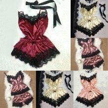 Solid Sleeveless Babydoll Nightdress