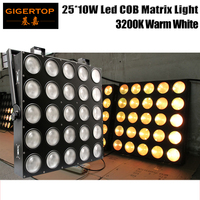 TIPTOP LED Light Warm White Led Matrix Blinder Light Beam Effect Stage Background Projector Led Individual Control America Cree