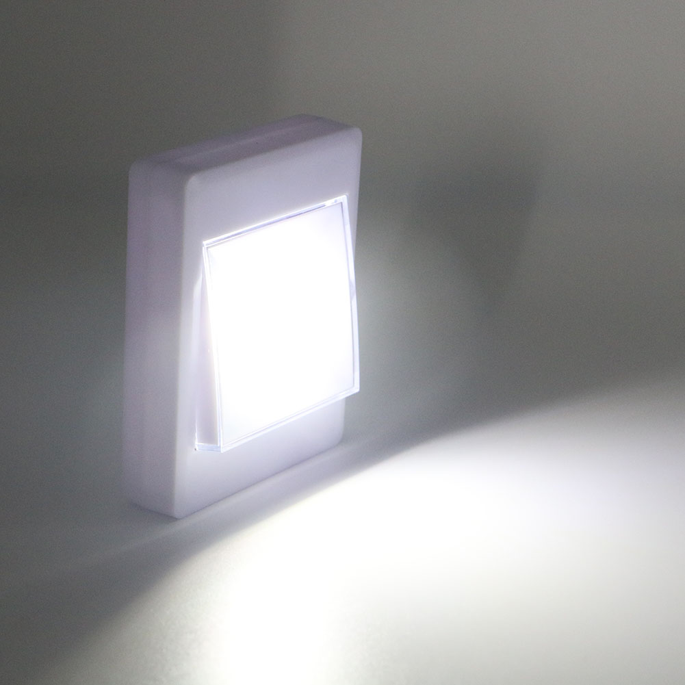 4 * AAA Batteriebetriebene Drahtlose COB LED Nacht Lichtschalter ...