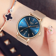 2019 LIGE Fashion Quartz Watch Women Watches Ladies Famous