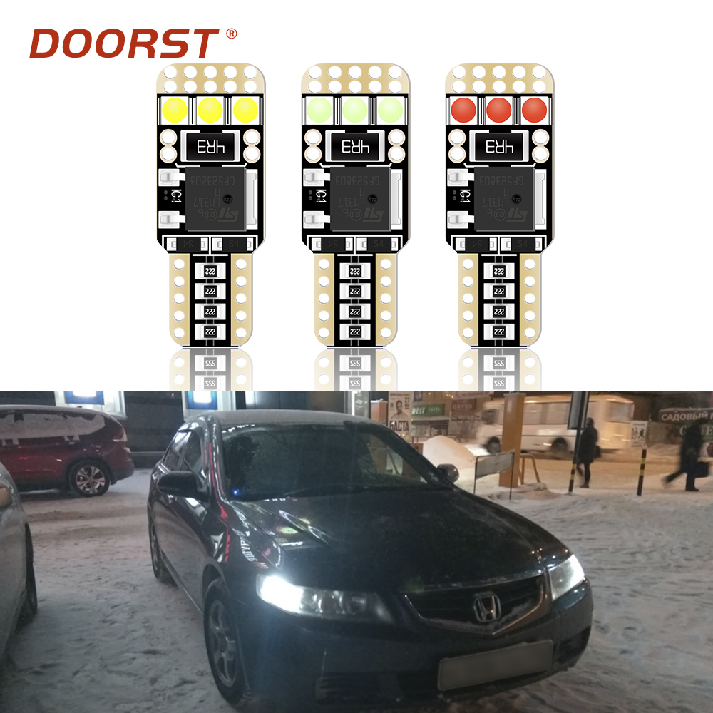 Canbus LED T10 W5W Clearance Light No Error For <font><b>Honda</b></font> R-<font><b>V</b></font> RD1 RD2 RD4 RD4 RD5 RD6 RD7 RM RE HR-<font><b>V</b></font> Fit 1 2 3 Insight Jazz Integra image