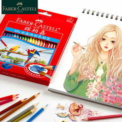 Faber Castell 1144 акварельные карандаши 12/24/36/48/60/72 Вт/набор водорастворимых цветных карандашей для художественной школы для рисования