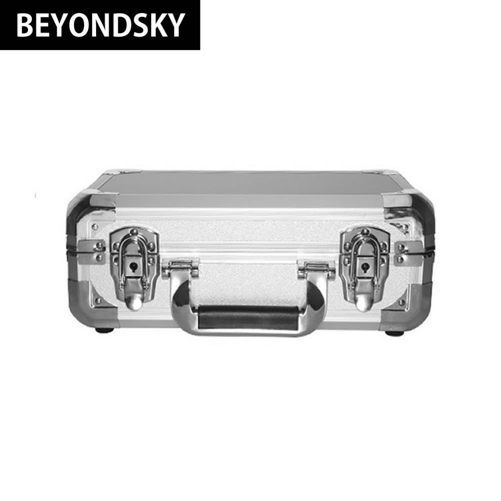RC Drone Suitcase Box Waterproof Safety Hardshell Aluminum Alloy Case for DJI Spark Quadrupter Fitting Portable