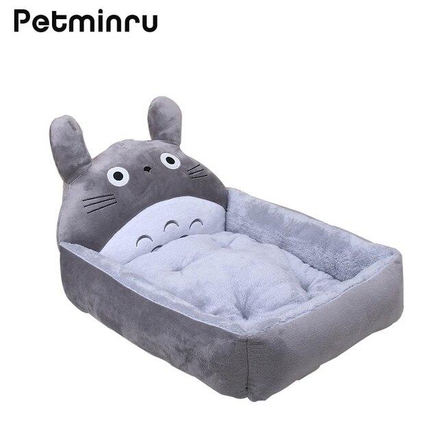Petminru Animal Shape Warm Kennel Cat Dog House Pet Beds Mats Teddy Pet Dog  Sofas Pet