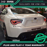 Car Styling Tail Lamp Case For Toyota GT86 FT86 Taillights Lights LED Tail Light Rear Lamp