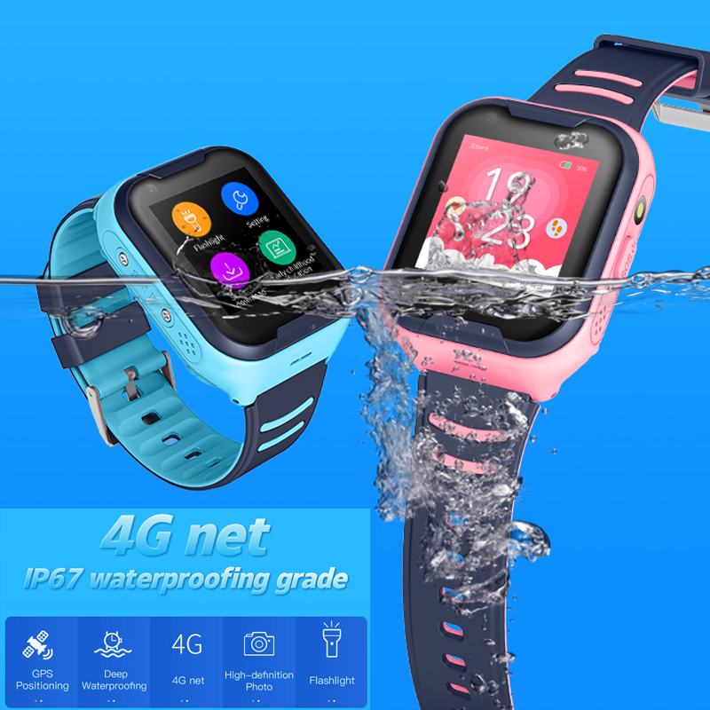 Image 4 - Kids Smart Watch 4G Wifi GPS Tracker Smartwatch Kids 4g Watch Phone Video Call Waterproof Smart Watch for Child Clock PK Q50 Q90-in Smart Watches from Consumer Electronics