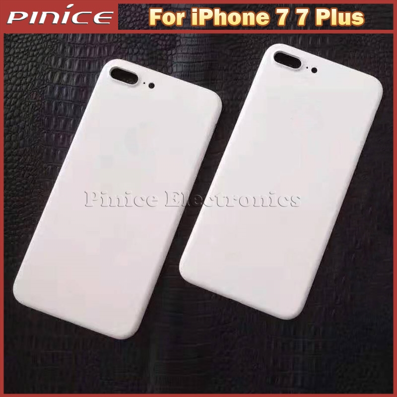 Matte White Back Housing Cover For iPhone 7 7 Plus Metal Back Chassis Replacement Frame For