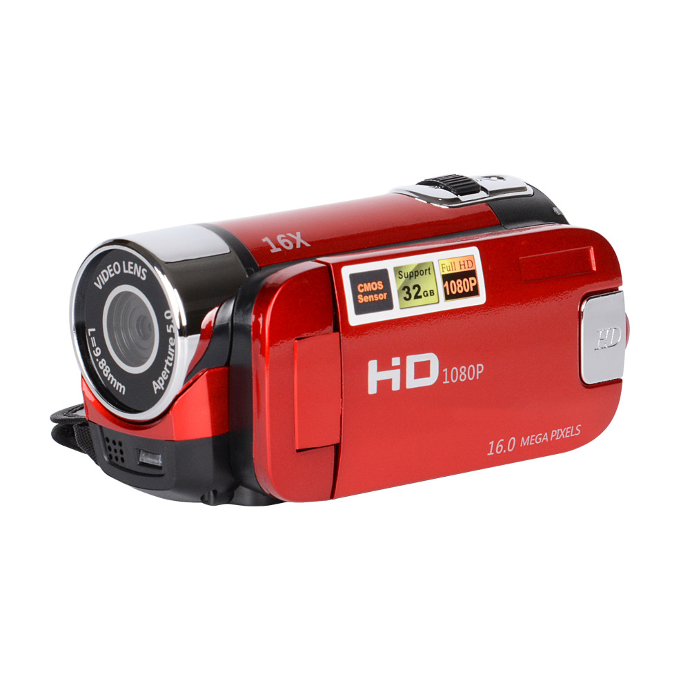 Cewaal 1080P HD Digital Camera DV DVR TFT LCD 16X Digital Zoom 16MP CMOS Anti Shaking HD Digital Camcorder