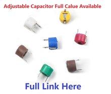 5 p 10 p 20 p 30 p 40 p 50 p 60 p 70 p 120 p ajustável capacitância trimmer capacitor variável plástico 6mm JML06-1-120P 5/10/20/30/40pf